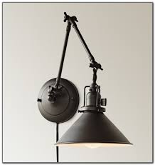 Plug In Swing Arm Wall Lamp Plug In Swing Arm Wall Light Lamps Home Decorating Ideas