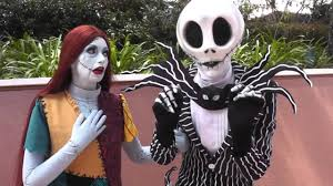 jack skellington and sally at epcot youtube