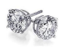 cubic zirconia earrings cubic zirconia stud earrings 4 95 shipped freebies2deals