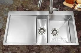 farmhouse kitchen sink with drainboard home design and decor