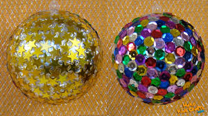 how to make disco ball diy youtube