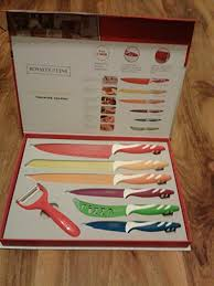 swiss koch kitchen collection royalty line swiss 7 knife set amazon co uk kitchen home