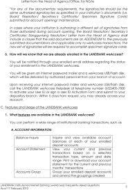 Authorization Letter Check Encashment landbank weaccess frequently asked questions pdf