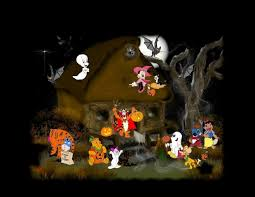 kid friendly haunted house ideas disney halloween wallpapers