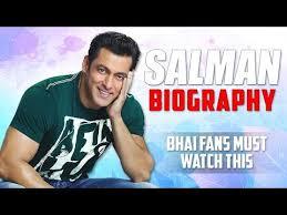 salman khan biography in hindi language salman khan biography prem to sultan youtube