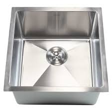 emodern decor ariel 18 x 18 single bowl undermount kitchen sink