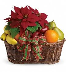 fruit baskets chicago christmas flowers delivery chicago il wall s flower shop inc