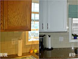 Refinish Kitchen Cabinet Doors Reface Cabinet Doors Before And After Cabinet Doors