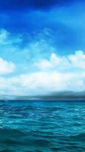 Gallery For Gt Light Blue by Ocean Blue Sky Storm Approaching Iphone 6 Wallpaper Tech