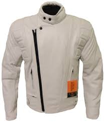 white leather motorcycle jacket ce armoured white leather motorcycle motorbike racing jacket