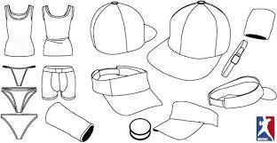 underwear and baseball cap template vectors 365psd com