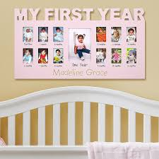 baby s 12 months frame 12 months babies and birthdays