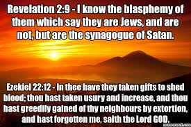 Orange Jews Meme - 2 9 i know the blasphemy of them which say they are jews and