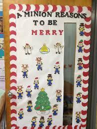 Classroom Door Christmas Decorations 97 Best Door Decorations Christmas Images On Pinterest Christmas
