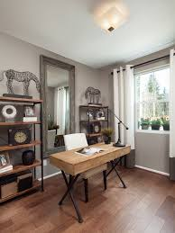 farmhouse office decor home office traditional with wood and metal