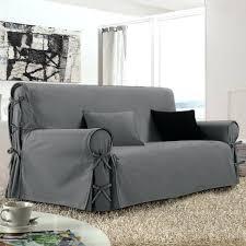 housse sur mesure canapé jete pour canape housses fauteuil et canapacs bicolores a nouettes
