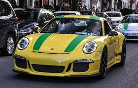 yellow porsche speed yellow porsche 911 r sighted in dusseldorf