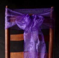 Purple Chair Sashes Chair Covers And Sashes Paper Lantern Store