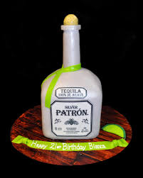 birthday tequila patron birthday cake blue sheep bake shop
