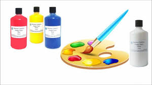 painting with children colour mixing theory youtube