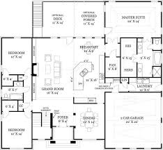 open floor plans for a ranch house