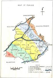 Map Of Punjab India by Analysis Of Aquifer Characteristics And Groundwater Quality In