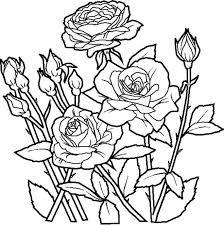 printable 36 cool flower coloring pages 7701 flower kids