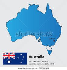 australia map capital cities map australia capital city sukhumi stock vector 292308965