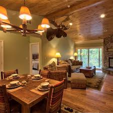 knotty pine ceiling sage green walls i can skip the moose head