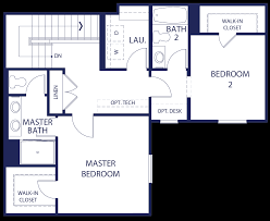 Bathroom Floor Plans With Walk In Closets Blossom Walk Temple City Homes For Sale Floor Plans