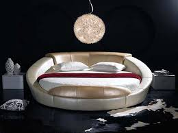 Circular Bed Frame This Circular Bed Frame Has Raised Edges So It Almost Looks Like