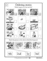 sequence worksheets for kindergarten worksheets
