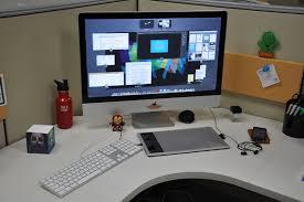 mac workstation of jose ramos santana graphic designer the gear