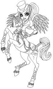 monster high coloring pages avea trotter google search me