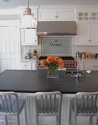granite countertop white kitchen cabinet soda refrigerator how