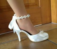 chaussures blanches mariage cchaussures mariee blanche
