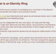 half eternity ring meaning promise ring meaning for a f archives