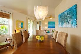 Casual Dining Room Chandeliers Modern Art Chandelier Dining Room Tropical With Capiz Chandelier