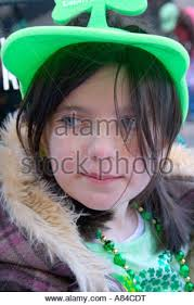 young girls marching in st patrick u0027s day parade yonkers new york