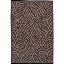 zebra print area rug 8 10 roselawnlutheran