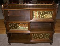 bookcase pulaski chelsea sliding door bookcase costco 2 sliding