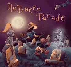 halloween parade animated gif rachel beenken illustration