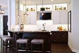 Interior Design Kitchen Room - lovable kitchen tv ideas tv above refrigerator home design ideas