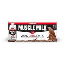 100 calorie muscle milk light vanilla crème bjs wholesale club product