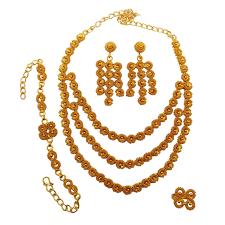new gold set gold earrings for women indian beautiful yellow gold earrings