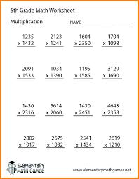 10 grade 5 math worksheets pdf formatting letter