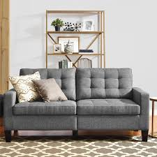 Gray Sofa Bed Best Sofas 500 Cheap Comfortable Couches Apartment Therapy