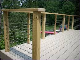 outdoor ideas marvelous glass railing ideas white aluminum deck