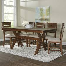 Birch Dining Table And Chairs Minimalist Birch Ashmere 7 Dining Set Reviews Wayfair