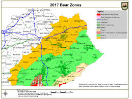 Tennessee Time Zone Map Kentucky Department Of Fish U0026 Wildlife Black Bear Hunting